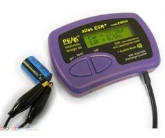PEAK Atlas ESR+ – Измервател на Еквивалентно последователно съпротивление (ESR) и капацитет