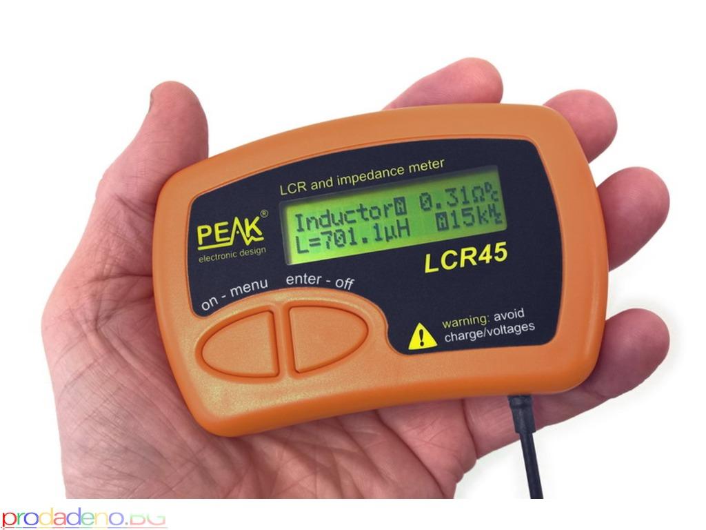 PEAK Atlas LCR45 – Измервател на Импеданс на пасивни компоненти - 1/3
