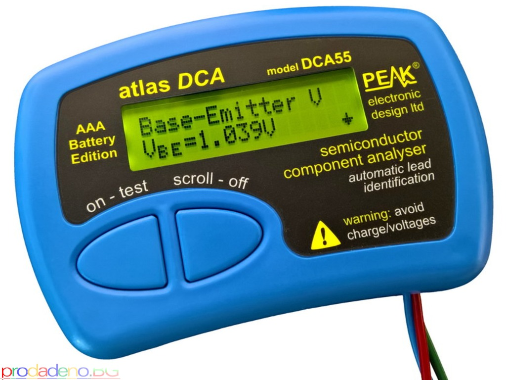 PEAK Atlas DCA – Анализатор на Полупроводникови Компоненти - 1/1