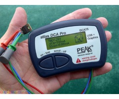 PEAK Atlas DCA Pro – Анализатор на Полупр. Компоненти c Графичен Дисплей и връзка с компютър