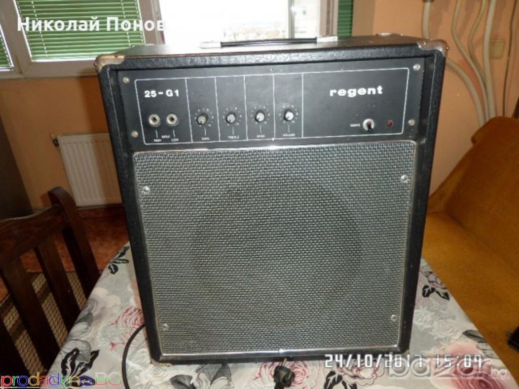 Продавам усилвател за китара Regent 25-G1 - 3/4