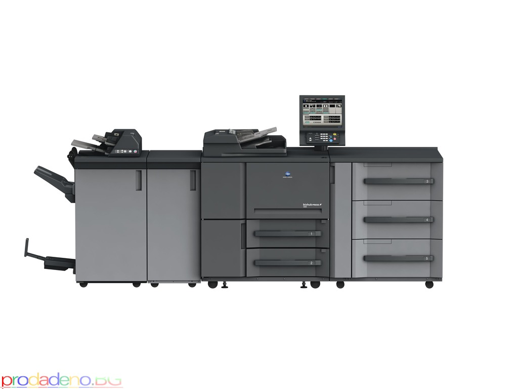 Konica Minolta Bizhub Press 1250 P Цена: 7500.00 лв - 1/1