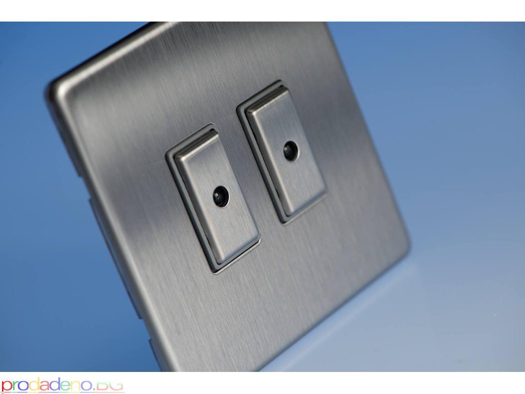 Луксозни Дизайнерски Ключове, Контакти и Димери VARILIGHT - 5/10