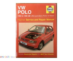 Haynes Service and Repair Manual VW Polo