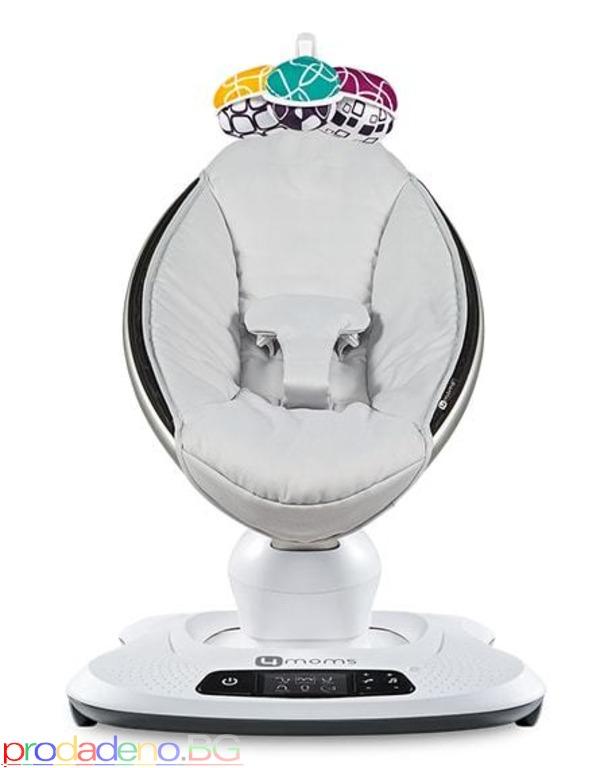Електрическа бебешка люлка шезлонг 4moms mamaRoo 4 модел 2019г - 1/7