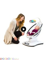 Електрическа бебешка люлка шезлонг 4moms mamaRoo 4 модел 2019г - Изображение 4/7
