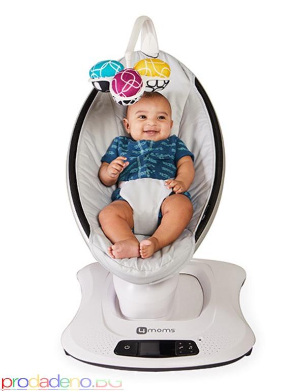 Електрическа бебешка люлка шезлонг 4moms mamaRoo 4 модел 2019г - 5/7