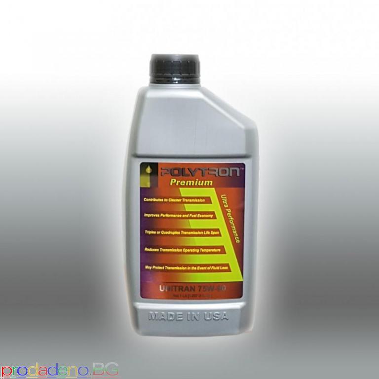 POLYTRON UNITRAN 75W90 - Трансмисионно масло за ръчни скорости и диференциал – 1L - 2/2