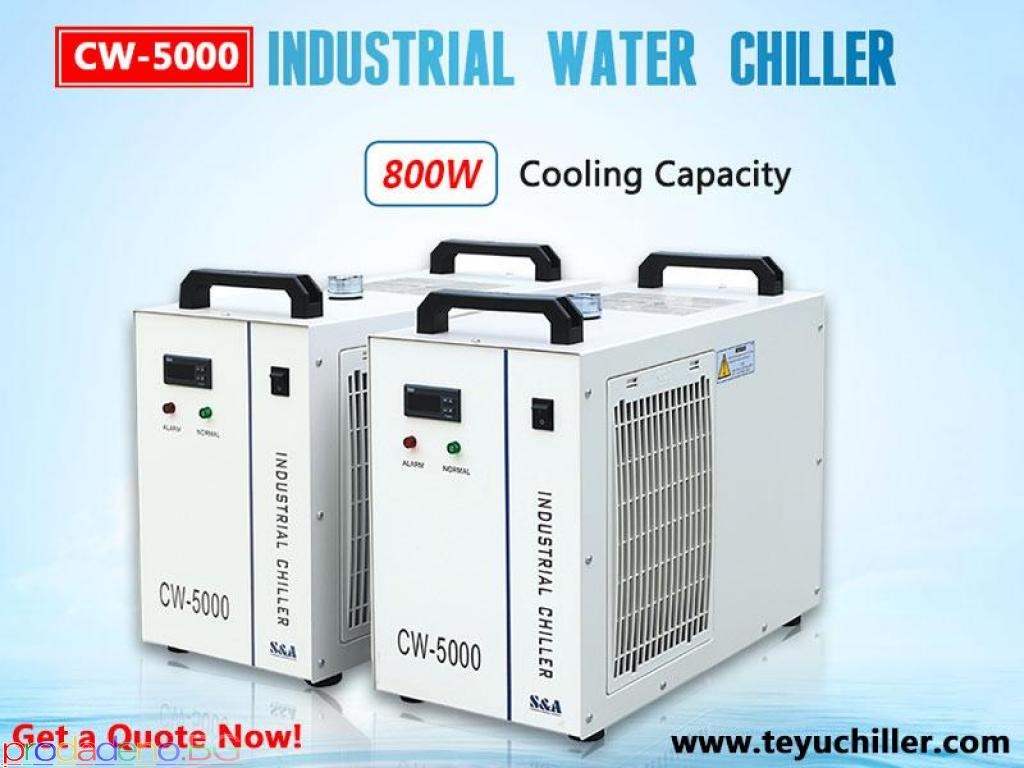 Воден чиллер CW5000 за лазерни резачки за неметални изделия - 1/1